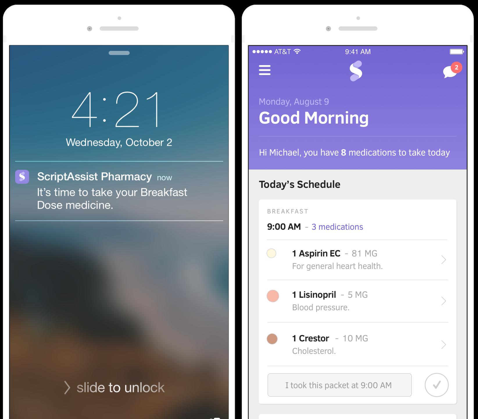 ScriptAssist Pharmacy iOS Mobile App